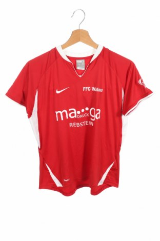Παιδικό μπλουζάκι Nike, Μέγεθος 14-15y/ 168-170 εκ., Χρώμα Κόκκινο, Πολυεστέρας, Τιμή 12,34€
