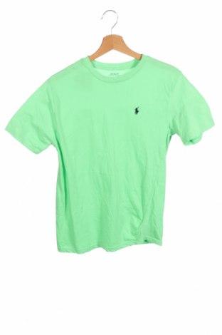 Παιδικό μπλουζάκι Polo By Ralph Lauren, Μέγεθος 11-12y/ 152-158 εκ., Χρώμα Πράσινο, Βαμβάκι, Τιμή 21,44€