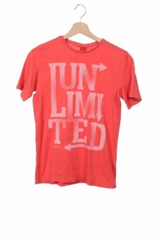 Παιδικό μπλουζάκι S.Oliver, Μέγεθος 12-13y/ 158-164 εκ., Χρώμα Ρόζ , Βαμβάκι, Τιμή 3,41€