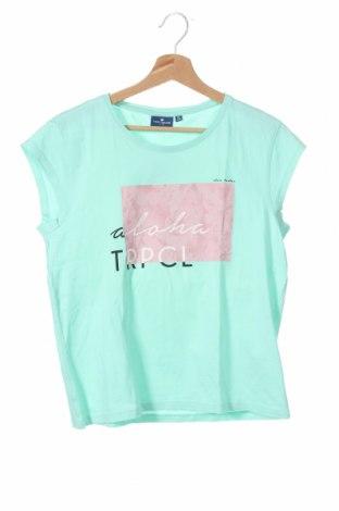 Dětské tričko  Tom Tailor, Velikost 15-18y/ 170-176 cm, Barva Zelená, Bavlna, Cena  91,00Kč