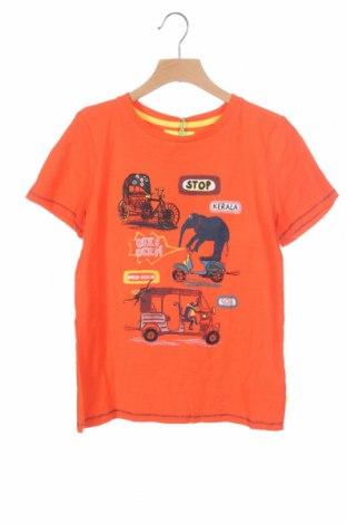 Παιδικό μπλουζάκι White Stuff, Μέγεθος 8-9y/ 134-140 εκ., Χρώμα Πορτοκαλί, Βαμβάκι, Τιμή 12,80€