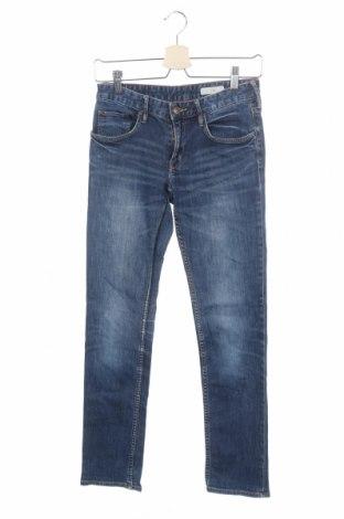 Παιδικά τζίν H&M, Μέγεθος 13-14y/ 164-168 εκ., Χρώμα Μπλέ, 99% βαμβάκι, 1% ελαστάνη, Τιμή 10,67€