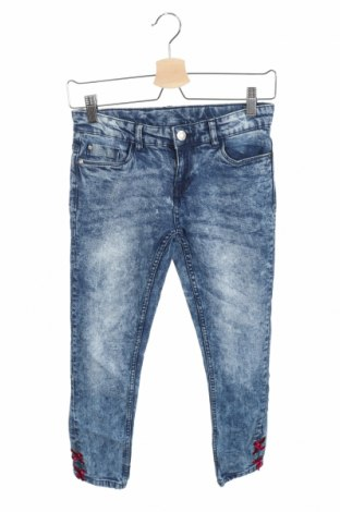 Dětské džíny  Y.F.K., Velikost 10-11y/ 146-152 cm, Barva Modrá, 98% bavlna, 2% elastan, Cena  117,00Kč