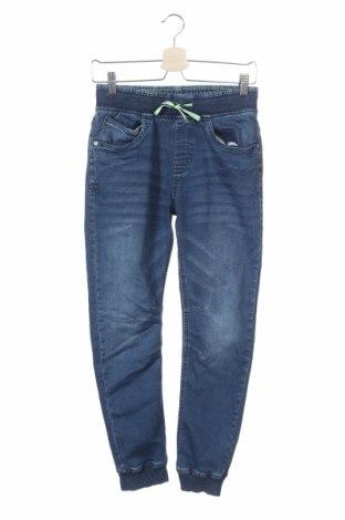 Детски дънки Yigga, Размер 12-13y/ 158-164 см, Цвят Син, 64% памук, 34% полиестер, 2% еластан, Цена 28,35лв.