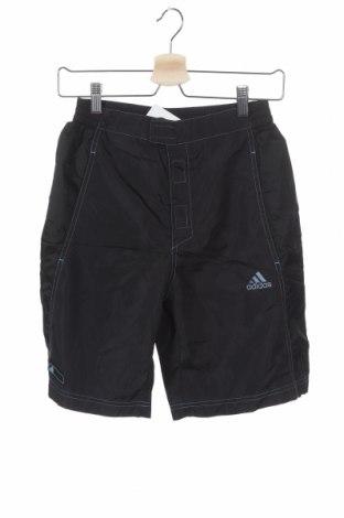 Παιδικό κοντό παντελόνι Adidas, Μέγεθος 15-18y/ 170-176 εκ., Χρώμα Μαύρο, Πολυαμίδη, Τιμή 14,29€