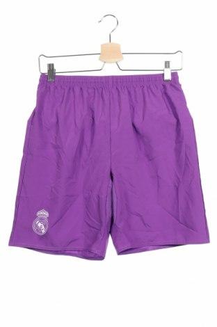 Παιδικό κοντό παντελόνι Adidas, Μέγεθος 13-14y/ 164-168 εκ., Χρώμα Βιολετί, Πολυεστέρας, Τιμή 8,57€
