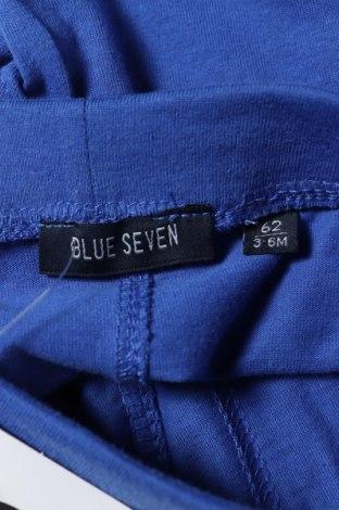 Παιδικό κοντό παντελόνι Blue Seven, Μέγεθος 2-3m/ 56-62 εκ., Χρώμα Μπλέ, 100% βαμβάκι, Τιμή 11,21€