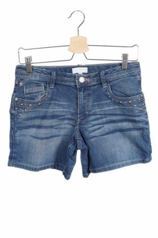 Παιδικό κοντό παντελόνι Charles Vogele, Μέγεθος 13-14y/ 164-168 εκ., Χρώμα Μπλέ, Τιμή 5,71€