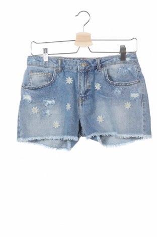Παιδικό κοντό παντελόνι Ltb, Μέγεθος 15-18y/ 170-176 εκ., Χρώμα Μπλέ, Βαμβάκι, Τιμή 16,24€