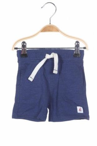 Παιδικό κοντό παντελόνι Mothercare, Μέγεθος 3-6m/ 62-68 εκ., Χρώμα Μπλέ, 100% βαμβάκι, Τιμή 14,67€