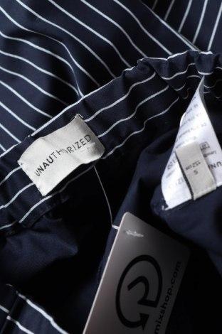 Παιδικό κοντό παντελόνι Unauthorized, Μέγεθος 10-11y/ 146-152 εκ., Χρώμα Μπλέ, 97% βαμβάκι, 3% ελαστάνη, Τιμή 12,06€