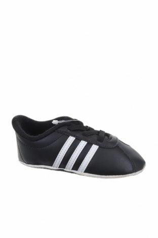 Παιδικά παπούτσια Adidas, Μέγεθος 20, Χρώμα Μαύρο, Δερματίνη, Τιμή 12,93€