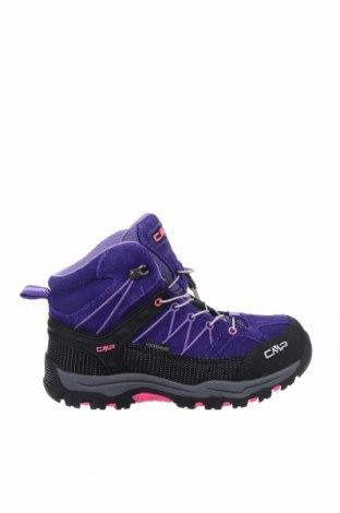 Παιδικά παπούτσια CMP, Μέγεθος 34, Χρώμα Βιολετί, Φυσικό σουέτ, κλωστοϋφαντουργικά προϊόντα, Τιμή 14,72€