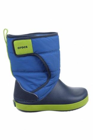Παιδικά παπούτσια Crocs, Μέγεθος 30, Χρώμα Μπλέ, Κλωστοϋφαντουργικά προϊόντα, πολυουρεθάνης, Τιμή 11,26€