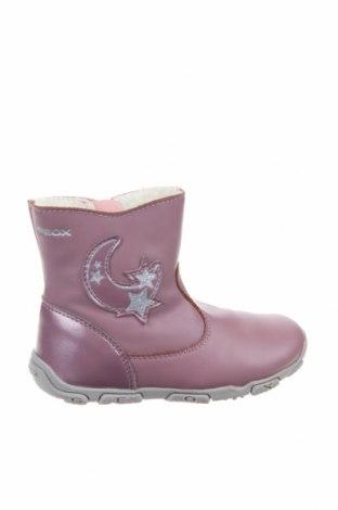 Παιδικά παπούτσια Geox, Μέγεθος 24, Χρώμα Ρόζ , Γνήσιο δέρμα, Τιμή 39,46€