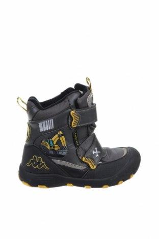 Детски обувки Kappa, Размер 29, Цвят Сив, Еко кожа, текстил, Цена 30,40лв.