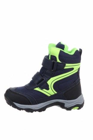 Детски обувки Lamino, Размер 28, Цвят Син, Еко кожа, текстил, Цена 72,00лв.