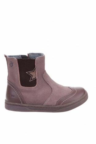 Детски обувки Lamino, Размер 27, Цвят Розов, Естествена кожа, естествен велур, Цена 42,56лв.