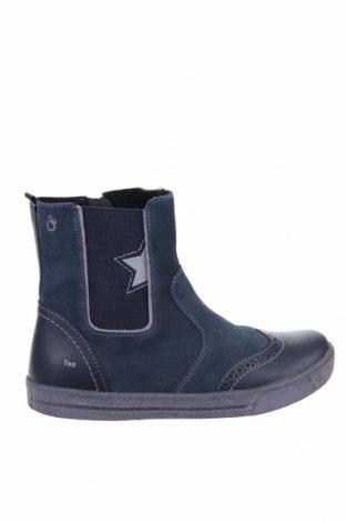 Детски обувки Lamino, Размер 36, Цвят Син, Естествена кожа, естествен велур, Цена 42,56лв.