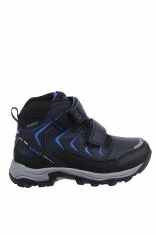 Детски обувки Lamino, Размер 32, Цвят Син, Еко кожа, текстил, Цена 57,00лв.