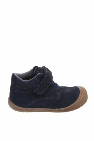 Dětské boty  Lamino, Velikost 23, Barva Modrá, Přírodní velur , Cena  556,00Kč