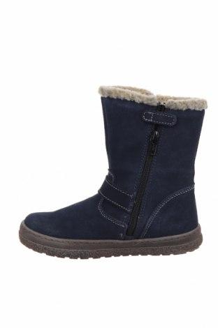Детски обувки Lurchi, Размер 30, Цвят Син, Естествен велур, Цена 52,82лв.
