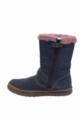Детски обувки Lurchi, Размер 33, Цвят Син, Естествен велур, текстил, Цена 37,60лв.