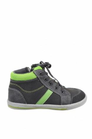 Παιδικά παπούτσια Lurchi, Μέγεθος 26, Χρώμα Γκρί, Γνήσιο δέρμα, δερματίνη, κλωστοϋφαντουργικά προϊόντα, Τιμή 22,72€