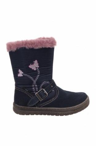 Παιδικά παπούτσια Lurchi, Μέγεθος 28, Χρώμα Μπλέ, Φυσικό σουέτ, κλωστοϋφαντουργικά προϊόντα, Τιμή 25,52€
