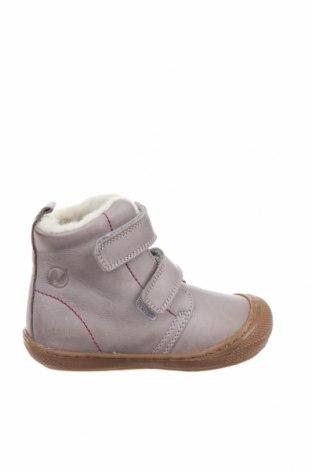 Детски обувки Naturino, Размер 22, Цвят Сив, Естествена кожа, Цена 104,25лв.