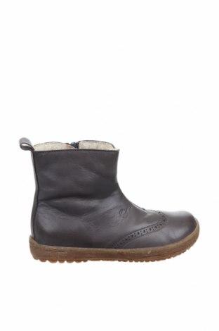 Παιδικά παπούτσια Naturino, Μέγεθος 30, Χρώμα Γκρί, Γνήσιο δέρμα, Τιμή 39,34€
