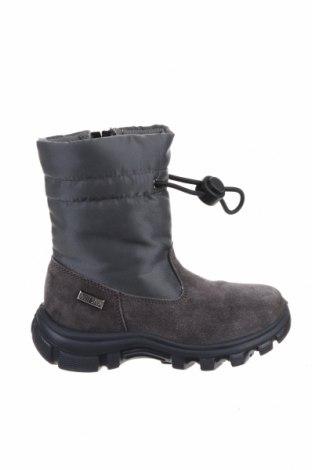Παιδικά παπούτσια Naturino, Μέγεθος 25, Χρώμα Γκρί, Κλωστοϋφαντουργικά προϊόντα, φυσικό σουέτ, Τιμή 12,27€