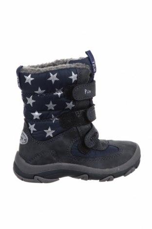 Παιδικά παπούτσια Pio, Μέγεθος 26, Χρώμα Μπλέ, Δερματίνη, κλωστοϋφαντουργικά προϊόντα, Τιμή 20,41€