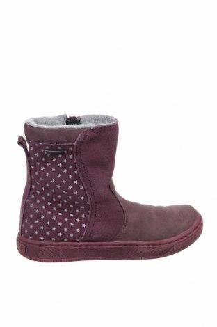 Παιδικά παπούτσια Pio, Μέγεθος 32, Χρώμα Βιολετί, Φυσικό σουέτ, δερματίνη, Τιμή 19,79€