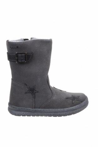 Детски обувки Pio, Размер 29, Цвят Сив, Естествен велур, Цена 45,22лв.