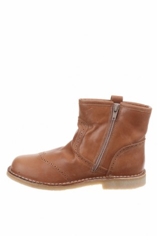 Детски обувки Pom Pom, Размер 34, Цвят Кафяв, Естествена кожа, Цена 49,02лв.