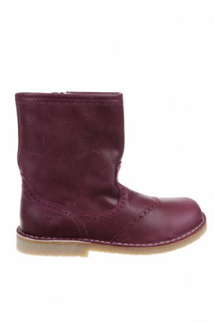 Детски обувки Pom Pom, Размер 33, Цвят Лилав, Естествена кожа, Цена 38,40лв.