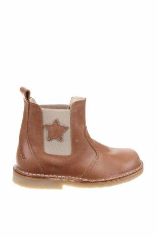 Παιδικά παπούτσια Pom Pom, Μέγεθος 27, Χρώμα Καφέ, Γνήσιο δέρμα, Τιμή 24,52€