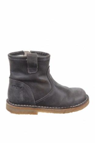 Детски обувки Pom Pom, Размер 25, Цвят Сив, Естествена кожа, Цена 32,80лв.