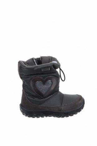 Παιδικά παπούτσια Rain Step, Μέγεθος 22, Χρώμα Πράσινο, Φυσικό σουέτ, κλωστοϋφαντουργικά προϊόντα, Τιμή 13,57€