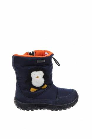 Παιδικά παπούτσια Rain Step, Μέγεθος 22, Χρώμα Μπλέ, Φυσικό σουέτ, κλωστοϋφαντουργικά προϊόντα, Τιμή 21,35€