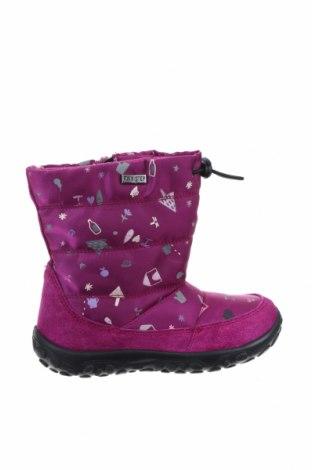 Παιδικά παπούτσια Rain Step, Μέγεθος 26, Χρώμα Βιολετί, Φυσικό σουέτ, κλωστοϋφαντουργικά προϊόντα, Τιμή 21,35€