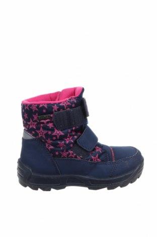 Παιδικά παπούτσια Richter, Μέγεθος 26, Χρώμα Μπλέ, Δερματίνη, κλωστοϋφαντουργικά προϊόντα, Τιμή 8,91€