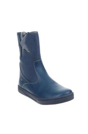 Παιδικά παπούτσια Tex, Μέγεθος 35, Χρώμα Μπλέ, Δερματίνη, κλωστοϋφαντουργικά προϊόντα, Τιμή 13,92€