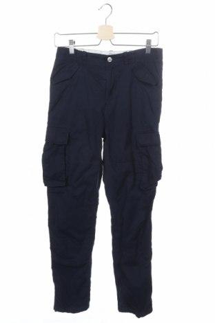 Παιδικό παντελόνι H&M, Μέγεθος 12-13y/ 158-164 εκ., Χρώμα Μπλέ, Βαμβάκι, Τιμή 11,26€