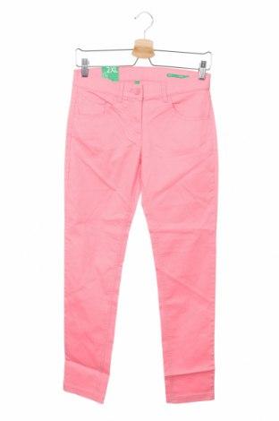 Παιδικό παντελόνι United Colors Of Benetton, Μέγεθος 11-12y/ 152-158 εκ., Χρώμα Ρόζ , 98% βαμβάκι, 2% ελαστάνη, Τιμή 13,68€