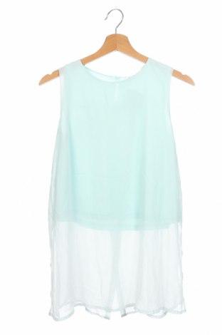 Μπλουζάκι αμάνικο παιδικό H&M, Μέγεθος 12-13y/ 158-164 εκ., Χρώμα Πράσινο, Τιμή 7,17€