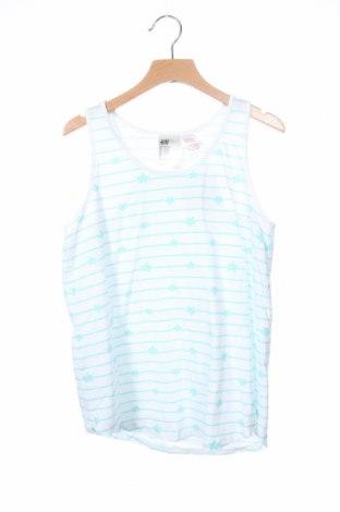 Μπλουζάκι αμάνικο παιδικό H&M, Μέγεθος 12-13y/ 158-164 εκ., Χρώμα Λευκό, Βαμβάκι, Τιμή 6,93€