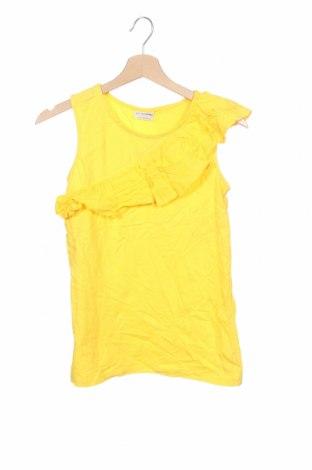 Μπλουζάκι αμάνικο παιδικό LC Waikiki, Μέγεθος 12-13y/ 158-164 εκ., Χρώμα Κίτρινο, Βαμβάκι, Τιμή 2,95€