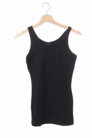 Μπλουζάκι αμάνικο παιδικό Schiesser, Μέγεθος 12-13y/ 158-164 εκ., Χρώμα Μαύρο, 95% βαμβάκι, 5% ελαστάνη, Τιμή 14,62€